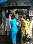 Some of the women in front of oneshop