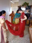 Starting the sari